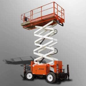 Rough Terrain Scissor Lift Diesel 39ft (11.8m) Snorkel-S3970RT - category