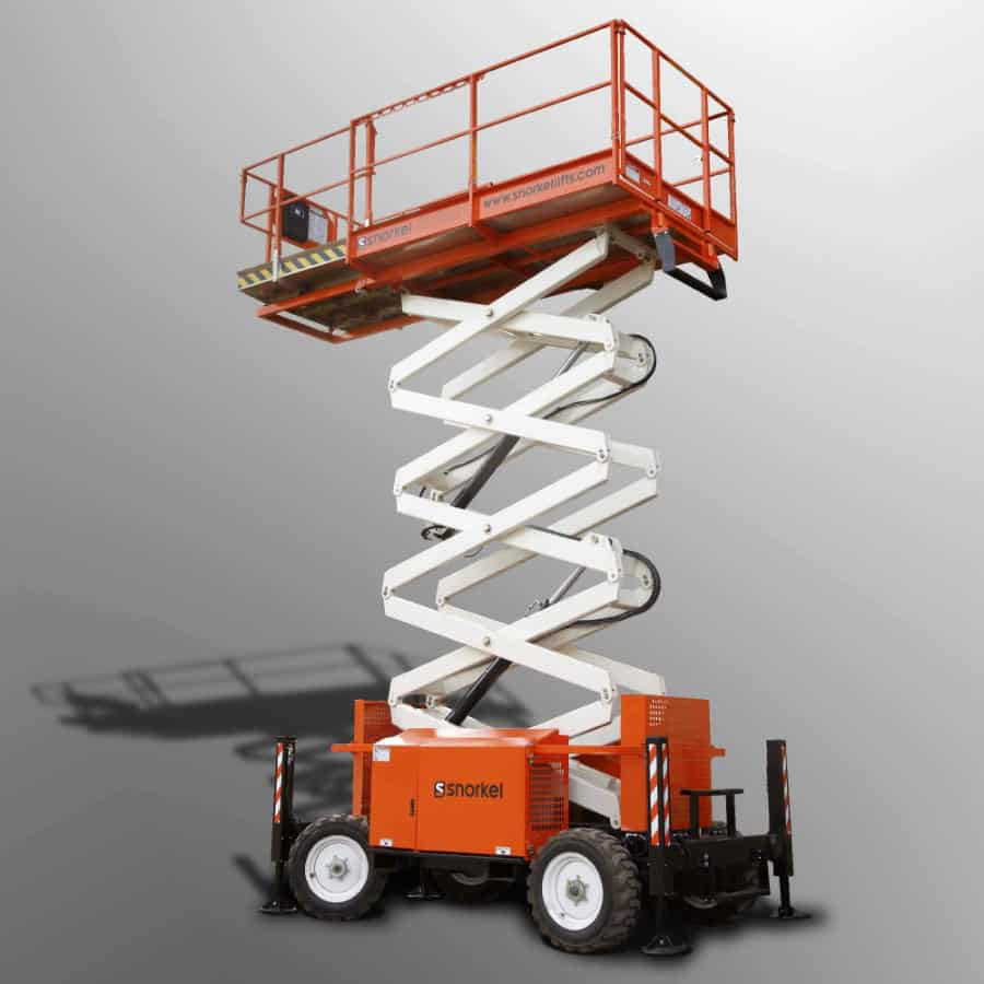 Rough Terrain Scissor Lift Diesel 39ft (11.8m) Snorkel-S3970RT
